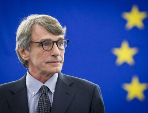 Presidente do Parlamento Europeu insta países a acelerarem vacinação